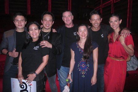 """Cast & crew members from """"Clueless?"""" pose for a photo in Bangkok."""