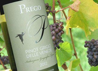 Background: Pinot Grigio grapes (Photo: Mark Smith)