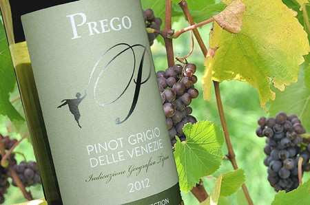 Background: Pinot Grigio grapes (Photo: Mark Smith)