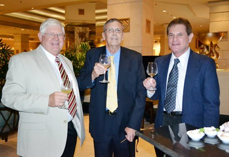 (L to R) PCEC members David Anderson, David Meador and Larry Dobersh.
