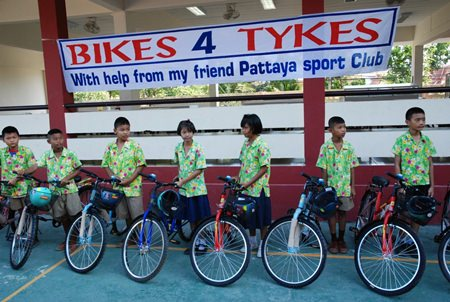 Bikes for Tykes with Rick.