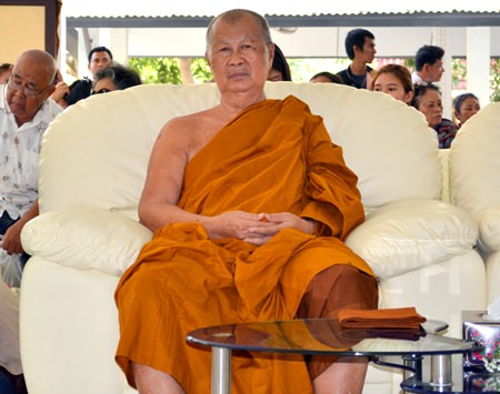 Provost Punya Punyajo, or Than Phra Punya Pattanaporn, abbot of Wat Phothisamphan.