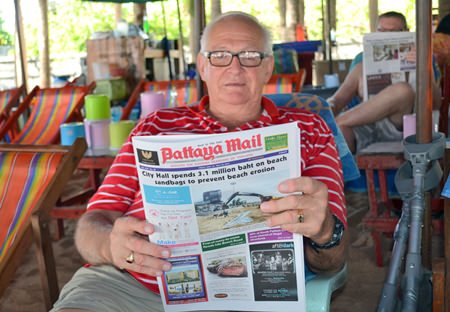 New Zealander Bruce Waller said he has come to Thailand twice a year since 1992, so this is hardly his first coup.  He was one of several tourists interviewed, along with Thai beach vendors, who expressed their hope that the conflict will end soon.