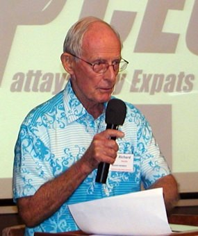 Former PCEC Chairman Richard Smith talks of the English Language Teaching Volunteer Group, now recognised by the authorities, and of various wine tasting activities around Pattaya.