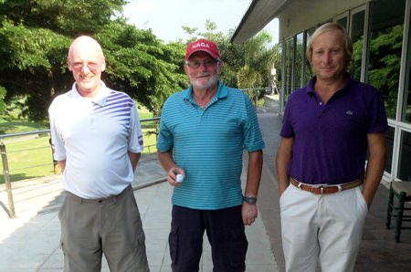 Graham Buckingham, Dave Neal & Mike Allidi.