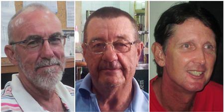 Vincent Gras, Darryl Kellett and Allen Raaen.
