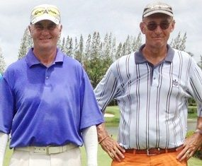 Wednesday's top two: Willem Lasonder (right) and Jeff Wylie.