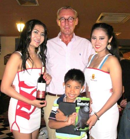 Long Drive winner Willem Lasonder.