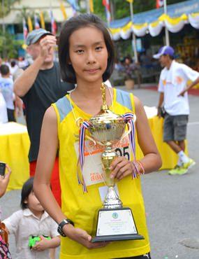 Kanchanaporn Aonputta was the winner of the women's race.