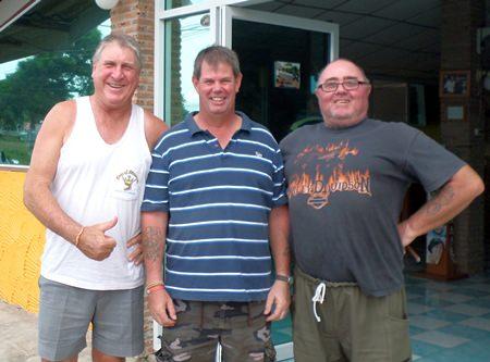 Rosco Langoulant, Kevin Wild and Owen Walkley