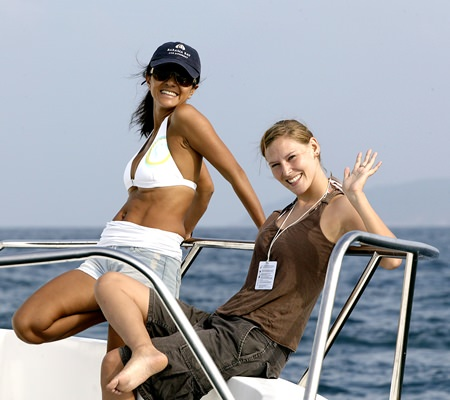 Sailing offers great fun and the chance to reconnect with the natural environment.