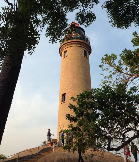 Lighthouse at Mahabalipuram.