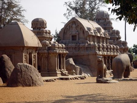 Pancha Rathas, Mahabalipuram.