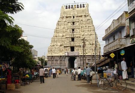 Kamakshi Amman Temple, Kanchipuram.