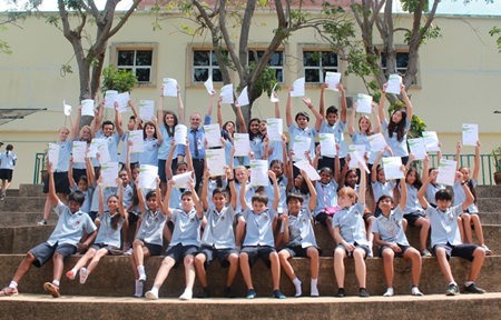 We're the best! GIS students celebrate their amazing results.