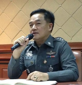 Pol. Col. Supathee Bungkhrong said he was dispatched to Pattaya to clean up the force.