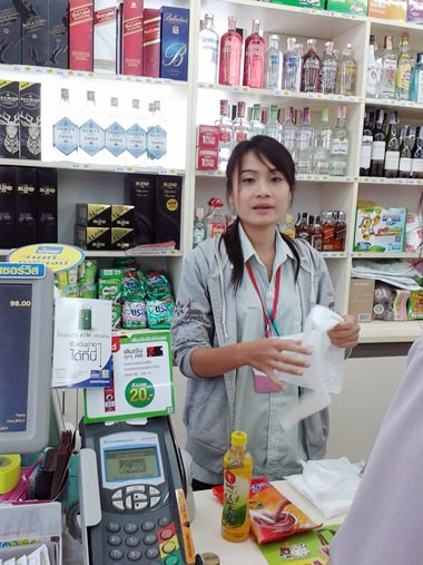 A clerk at a Pattaya 7-Eleven store said tourists again were crowding in, looking for night-time snacks, now that the curfew has been lifted.
