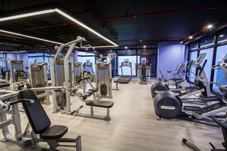 Work out in the 24th floor fitness center and enjoy stunning views of Pattaya.
