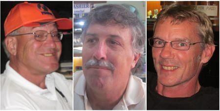 Bruce Hilde, Hal Hart and Jon Batty.