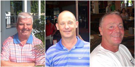 Daryl Ottaway, Jim Cleaver and Neil Bramley.