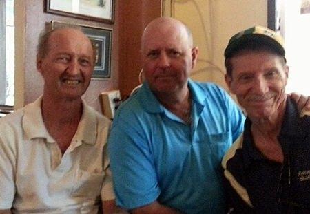 Daryl Evans, Bob Watson and Tom Cotton.