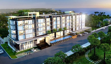 Buritara Chateau Resort Condo will be located just 200 meters from the beach in Bangsaen.