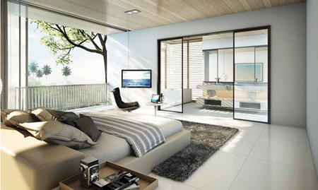 Veranda Residence will offer room sizes ranging from 32sqm - 266sqm, all with a sea view.