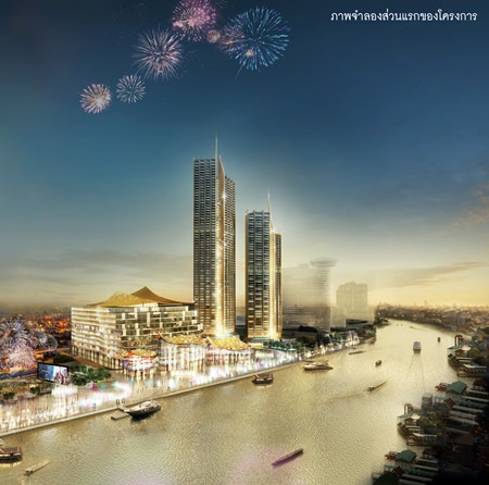 ICONSIAM will feature a spectacular 400m waterfront with Southeast Asia's longest land-based multi-media water-and-fire attraction.