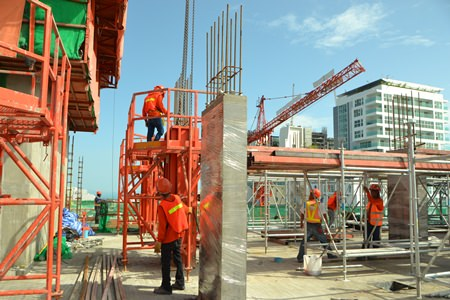 Bouygues Thai utilizes the latest building techniques to ensure quality and precision in the construction process.