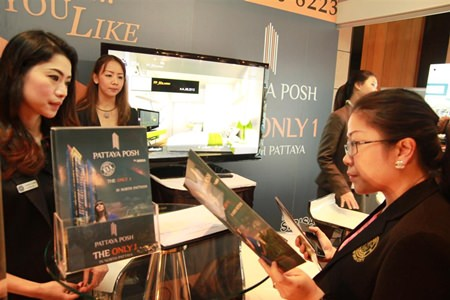Over 55 exhibitors are expected at the 2nd Pattaya Property Show being held at the Dusit Thani Pattaya from 3-5 October 2014.