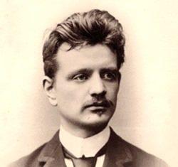Jean Sibelius in 1890