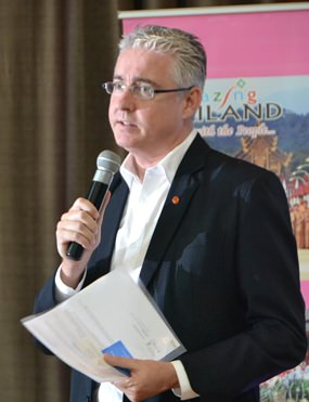 Brendan Daly GM of Amari Pattaya said the NPA intends to grab the No. 1 spot in Thailand for Indian weddings.