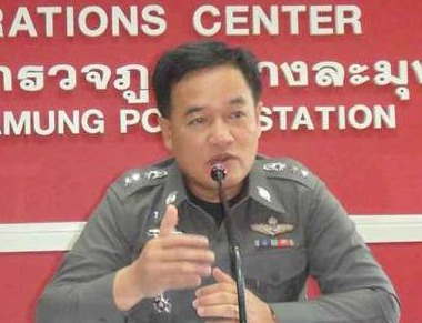 Pol. Col. Supathee Bungkhrong, deputy chief of Chonburi police and acting superintendent of Pattaya police, warns operators and shops from selling all types of alcoholic beverage during the 2 day religious holidays, Asalaha Bucha and Buddhist Lent.