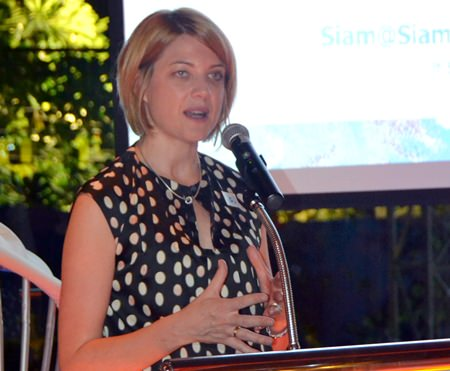 Kate Gerits, GM of Holiday Inn Pattaya invites Skålleagues and guests to the next meeting on August 21 at her hotel's new building.
