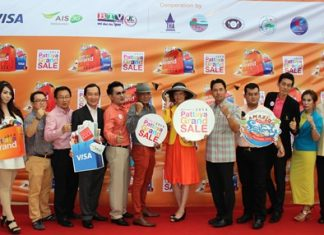 Local luminaries kick off this year's Pattaya Grand Sale.