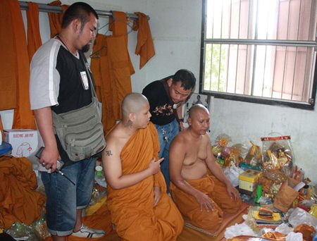 Sirichai Rattanawikol and Mongkol Chontumdee have been defrocked and arrested for using drugs and pornography.