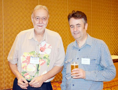 Chris Thatcher (left), Vice Chairman of the BCCT and Mark Butters (right), Director of the RSM Advisory (Thailand) Ltd.