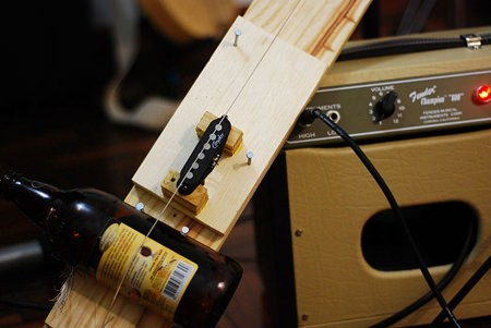 Ken mentioned the Diddley-Bow as one of the earliest handmade instruments used for the Blues. To listen to this unique instrument, go to http://www.youtube.com/watch?v=NmuDGGgDio8& feature=related. (Source: http://en.wikipedia.org/wiki/Diddley_bow)