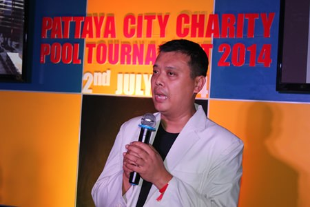 Banthit Siritanyong, president of the Pattaya Entertainment Business Club, presided over the tournament.