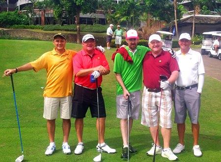 Some of the gang at Laem Chabang.