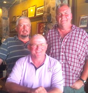 Thierry Danzas & Brad Sproxton with Lasse Pettersen.