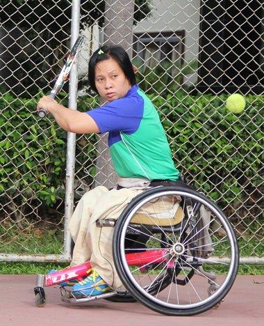 Wheelchair tennis - not as easy as it looks.