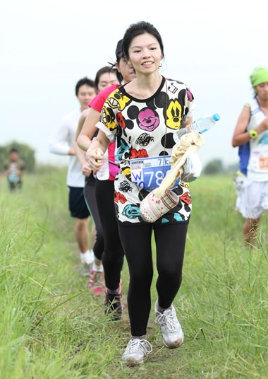 Trail running at Nong Chok offers a fun, sporting day out for everyone.