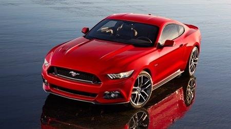RHD Ford Mustang.