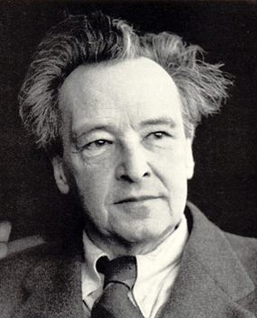 Composer Arthur Honegger.