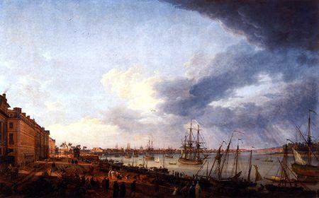 Claude-Joseph Vernet: The Port of Bordeaux (1758)