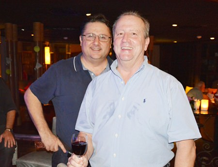 Bob Graviano, Senior Director of Celestica, and Barry Crawford, Supply Chain Director of Triumph Aviation Services Asia Ltd.