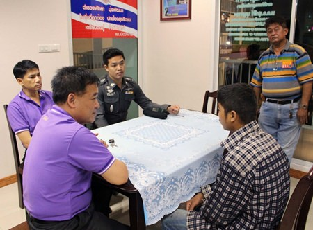 Police question the Cambodia teen about his alleged molesting of a 5-year-old girl.