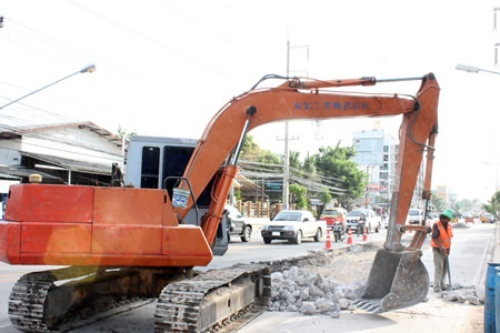City fathers apologize to commuters for any inconvenience caused by the road maintenance, but have said it is somewhat overdue.