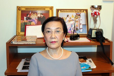 Radchada Chomjinda has become a central figure in Pattaya's network of social-welfare organizations.